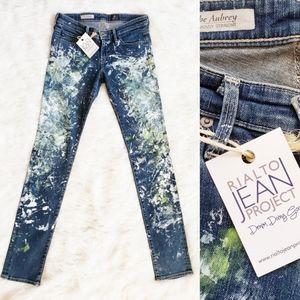 RIALTO JEAN PROJECT Authentic Skinny Straight Jean